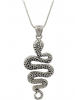 Stunning Snake Animal Fashion Necklace - Unique Statement Jewellery